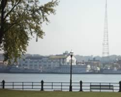 WHBF TV/Radio Tower in Rock Island, Illinois