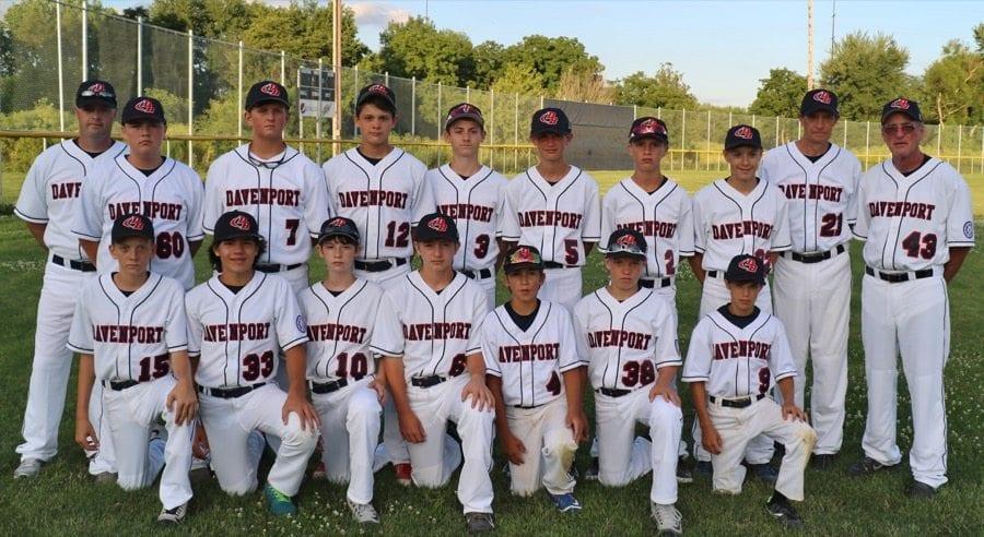 Davenport Little League Team