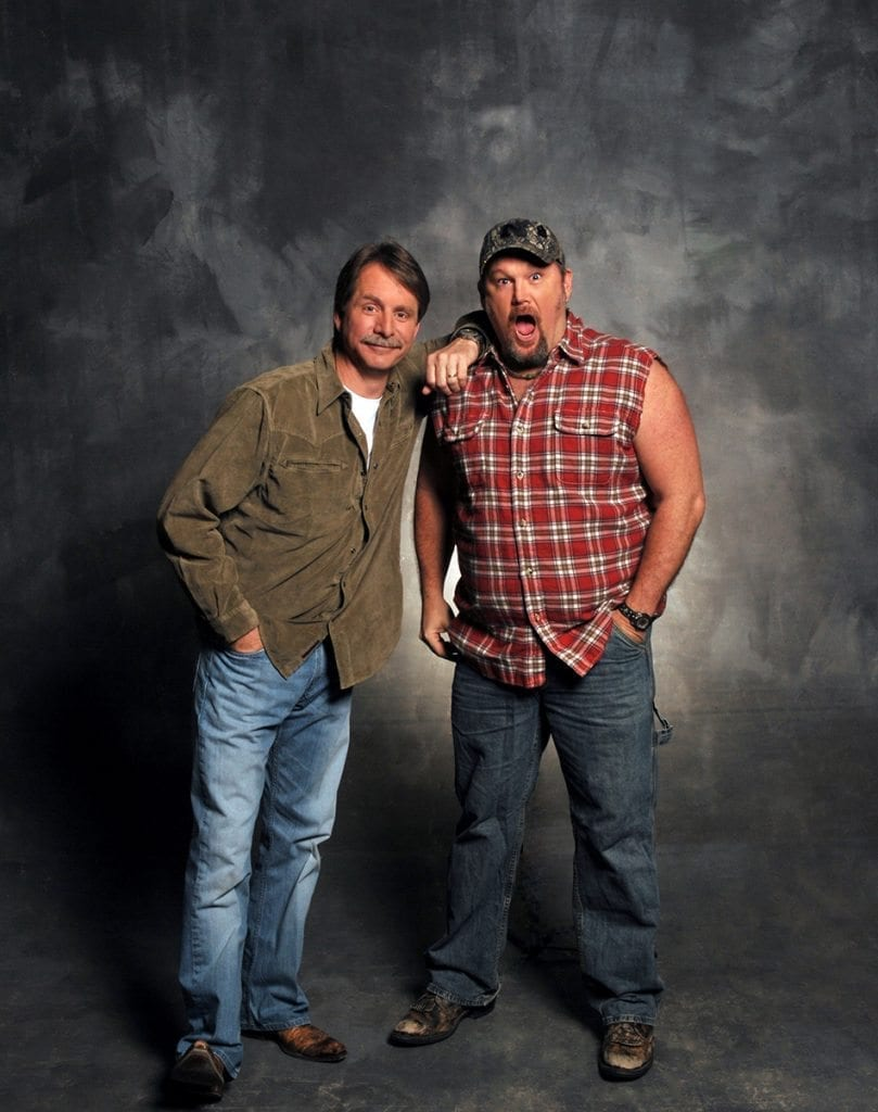 Foxworthy and Larry Cable Guy Photo