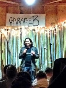 Donny Townsend performs at Garage 3.