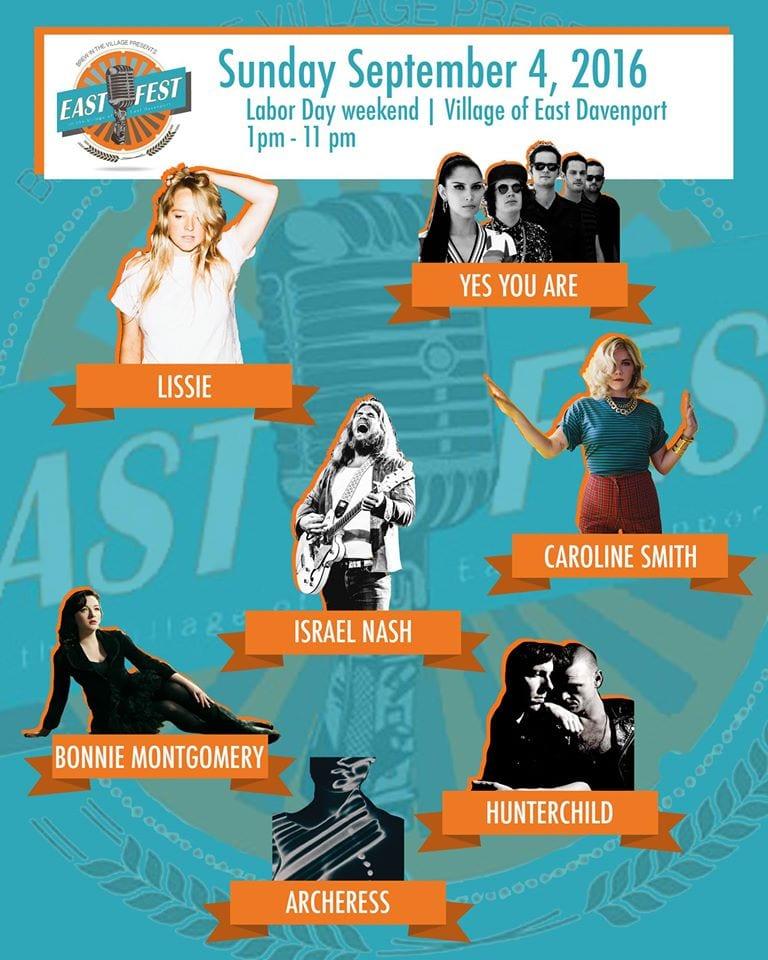 east fest poster