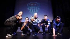 Ring In The New Year With Laughs At Comedy Sportz
