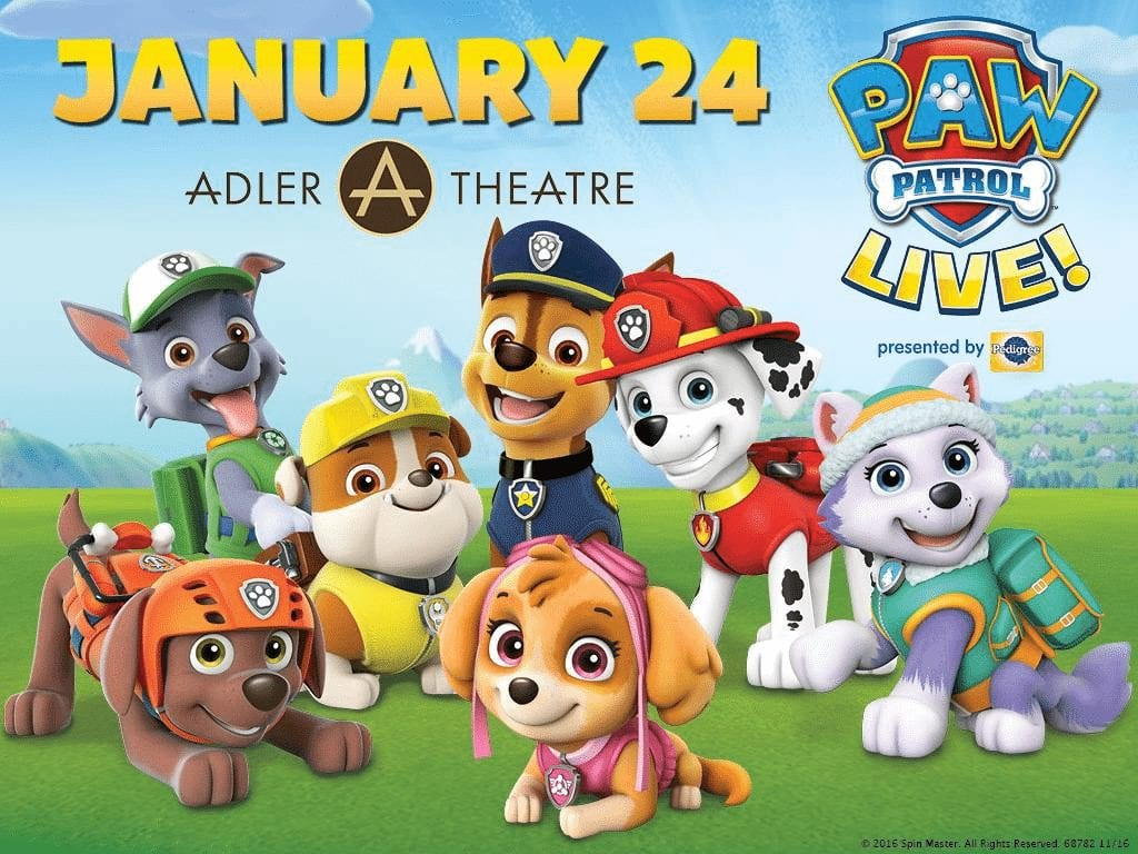 'Paw Patrol' Comes To The Rescue At Adler Theater