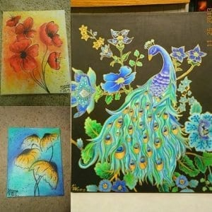 Don't Be Shy, Check Out Shy's Art At Taste Buds