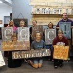 Come Create at Craft Love's Wine, Women and Wood Event
