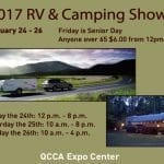 RV and Camping Show Driving Into Expo Center