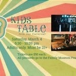 Tuck Up To The Kids Table For Fun Food!