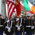 Grand Parade Rings In St. Patrick's In Both States Saturday