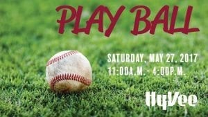 Play Ball At HyVee John Deere Road!
