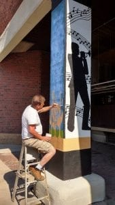 Outsider Artist Knudsen's Vibrantly Imaginative Art Hits Taste Buds