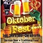 Oktoberfest Tips Off This Weekend