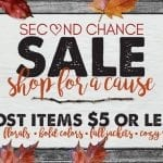 Dress For Success With Second Chance Sale Saturday