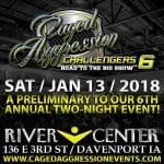 MMA Caged Aggression Explodes At RiverCenter