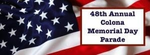 Have A Great Weekend At Colona Memorial Day Fest