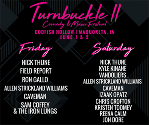 Buckle Up For Turnbuckle 2!
