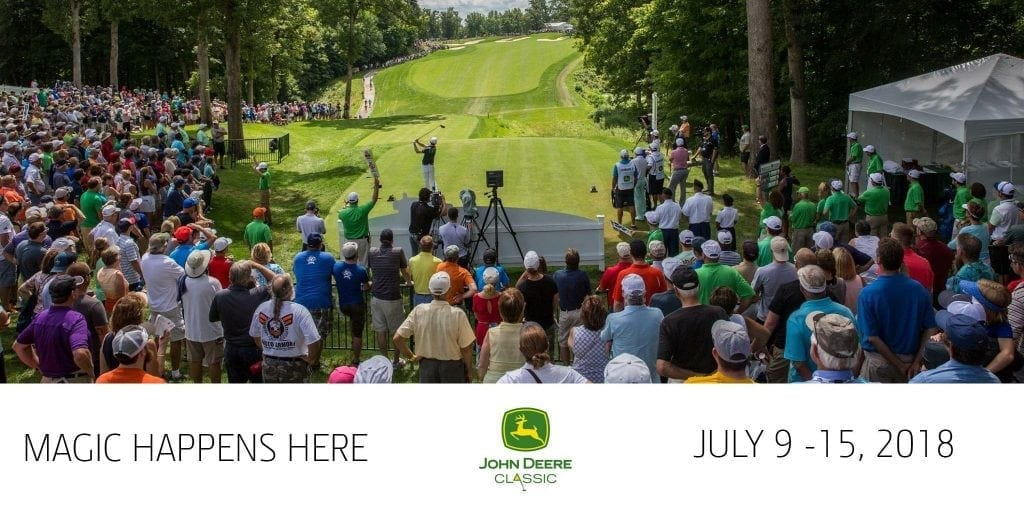 PGA Tour Heading to the Quad Cities with John Deere Classic