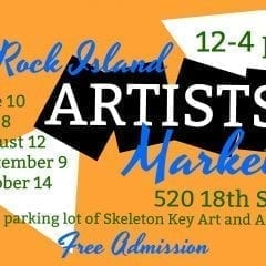 August Artists Market Blooming Sunday At Skeleton Key