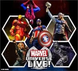 Marvel Universe Heading to TaxSlayer Center!
