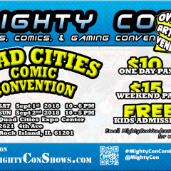 Quad Cities Comic Con Taking Over QCCA Expo Center!