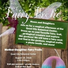 An Enchanted Fairy Frolic at Quad City Botanical Center