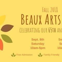 Beaux Arts Fair Celebrates 65th Anniversary!