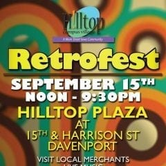 Go Retro at the Hilltop Campus Village's Retrofest This Weekend!