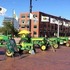 John Deere Heritage Tractor Parade Rolling into Downtown Moline!