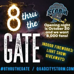 Q-C Storm News Raining In As Opening Night Approaches!