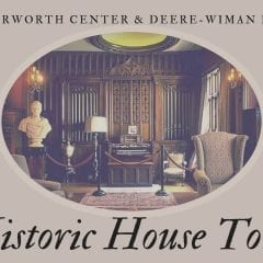 Take a Historic Tour of Deere-Wiman House and Butterworth Center