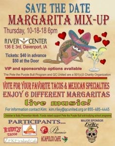 Help Prevent Bullying with a Margarita miX-uP!