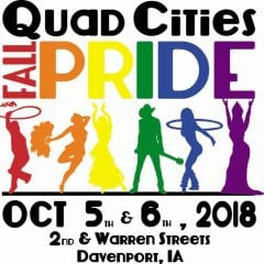 Show Your Pride at the Quad Cities Fall Pride Festival!