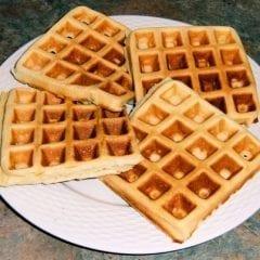 Belgian Waffle Breakfast This Saturday!