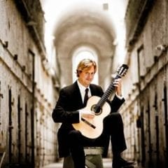 Grammy Award-winning Classical Guitarist Vieaux Visiting Local Schools