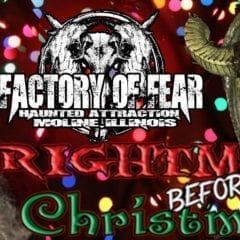 Experience a Frightmare Before Christmas this Weekend!