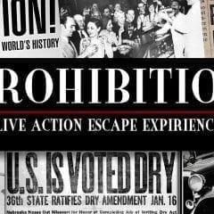 Prohibition Era Mystery Experience at Skellington Manor