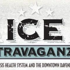 Icestravaganza Returns to Downtown Davenport!