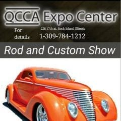 Rod & Custom Show Drives into QCCA Expo Center this Weekend!