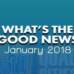 What's The Good News For January?