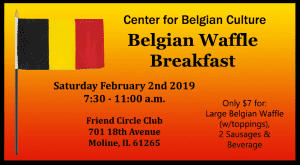 Warm Up with Some Belgian Waffles This Saturday!