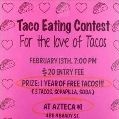 Win Free Tacos for An Entire Year!