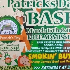 2nd Annual St. Patrick's Day Bash at Fairgrounds!