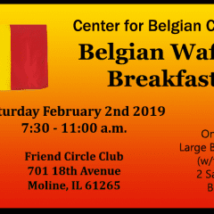 Get Some Belgian Waffles This Saturday!