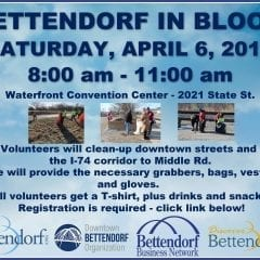 Assist with the Beautification of Bettendorf!