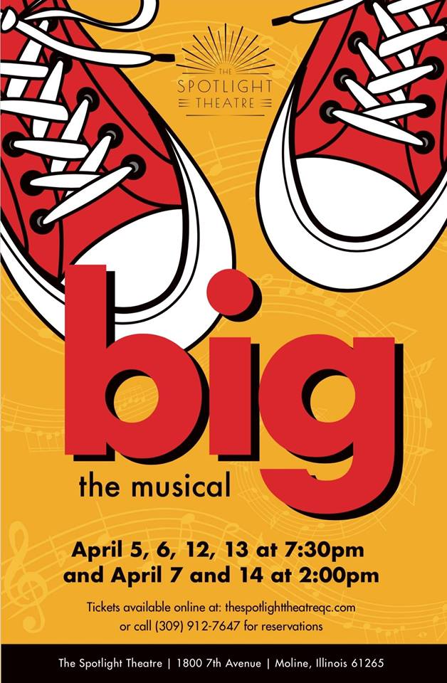 40c7e83c1b7 This Is One BIG Musical! | Quad Cities