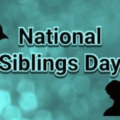 It's National Siblings Day!