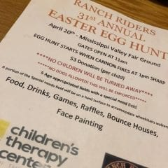 Ranch Riders 31st Annual Easter Egg Hunt is Back With a BOOM!
