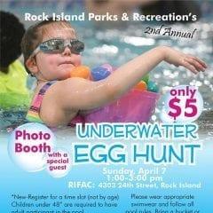 Your Favorite Underwater Egg Hunt is Back!