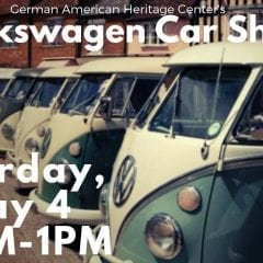 Volkswagen Car Show at German American Heritage Center!