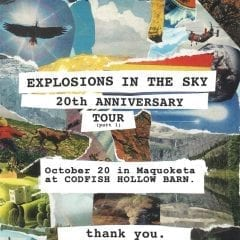 Explosions In The Sky Coming To Codfish