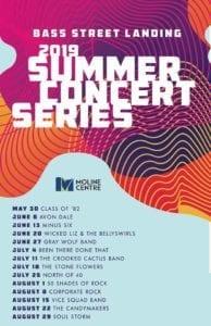Bass Street Landing 2019 Summer Concert Series Has Arrived!